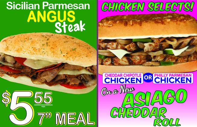 Sicilian Parmesan Angus Steak and Chicken Selects